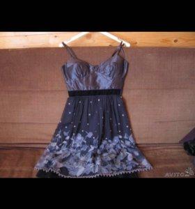 платье натуральный шелк американский бренд