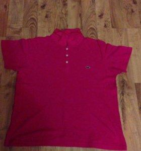 Продам шикарную футболку Lacoste хлопок размер -52