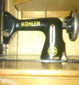 Швейная машинка кехлер антиквариат