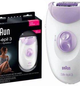 Эпилятор Braun Silk Epil 3