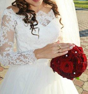 Обалденное свадебное платье