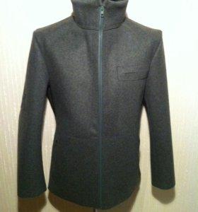 Куртка из шинельной ткани