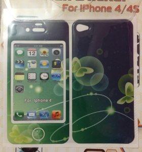 Наклейки на Iphone 4/4s