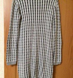 Теплое платье 44-46 р