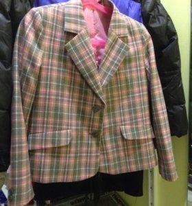 Пиджак для девочки, размер 128