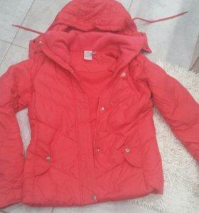 Пуховик куртка Adidas р.44(М)