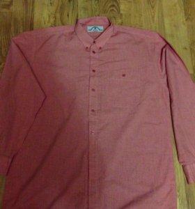 Продам хорошую новую рубашку хлопок размер 54