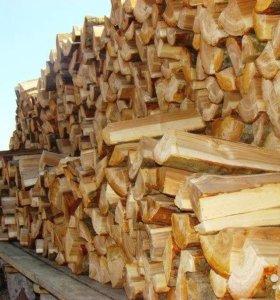 берёза дрова колотые .Раменское