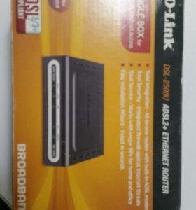 D-Link DSL-2500U ADSL2+ ETHRNET ROUTER