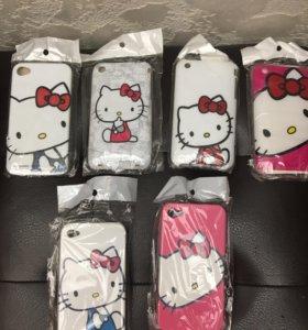 Чехлы для  IPhone 4 и iPhone 3 📱 📱📱новые
