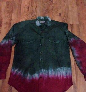 Продам новую рубашку красивую хлопок плотная