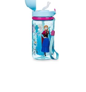Бутылочка с Эльзой и Анной