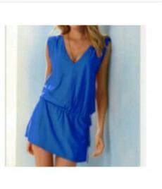 Новое платье домашнее-туника пляжная