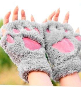 Перчатки!