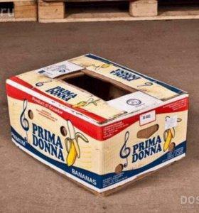 Банановая коробка
