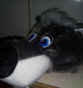 Шапка волка