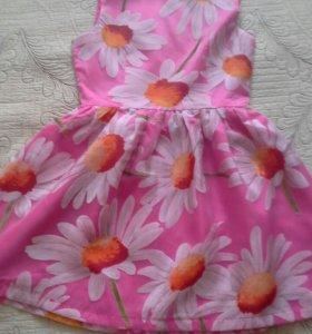 Красивое детское платье на 8-10л