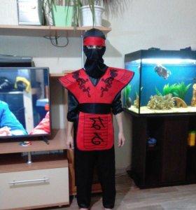 Продам костюм Нинзя рост 128-134