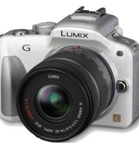 подам новый фотоаппарат Panasonic Lumix dmc -G3K