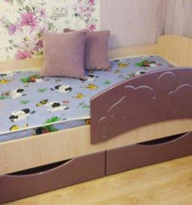 Кровать детская дельфин 3