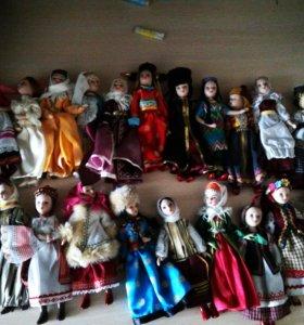 Колекционные куколки фарфоровые