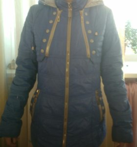 Куртка осенняя с капюшоном