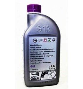 VAG антифриз и масло