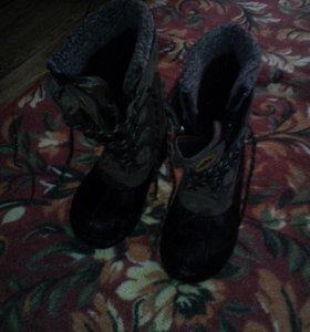 Ботинки на мальчика 36размер