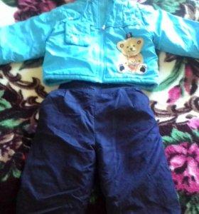 Демисезонный костюм для мальчика на 1 год