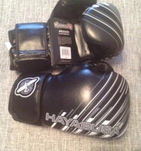 Боксерские перчатки Hayabusa новые!!!!!