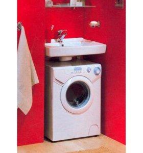 Умывальник для установки над стиральной машиной