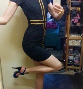 Платье LOVE REPUBLIC черное 40-42р-р