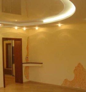 Гипсокартон потолок перегородки