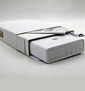 Портативная зарядка Xiaomi Mi Power Bank 20000мАч