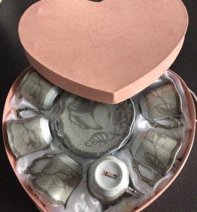 Кофейный сервиз в подарочной упаковке