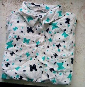Блузка(за обе)