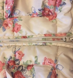 Куртка весна-осень для девочки zara
