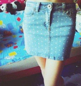 💎Джинсовая новая юбочка