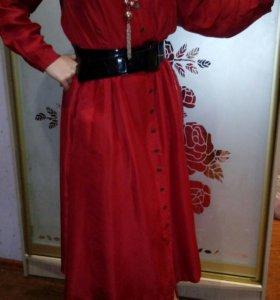 Платье натуральный шелк(Норвегия)