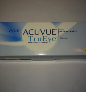 Линзы Acuvue TruEye - 1.0 и - 0.5