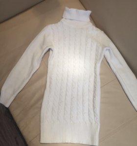 Новый удлинённый свитер