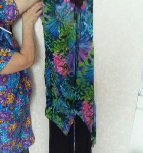 Костюм платье+брюки