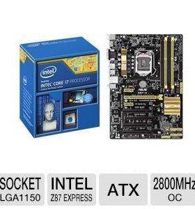 Asus z87-plus + i7 4770 + kingston hyperX blu 16gb