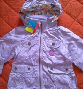 Весенняя курточка для девочки.