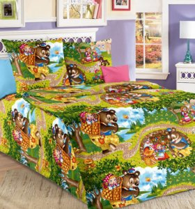 Детские комплекты постельного белья 1,5 бязь