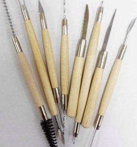 Стеки для полимерной глины/ пластилина;