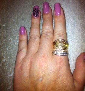 Бижутерия кольцо и серьги