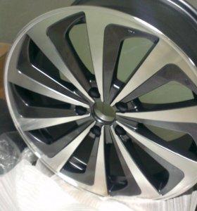Новые литые диски R18 Skoda, VW, Audi