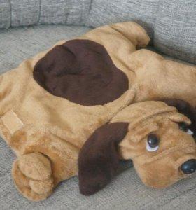 Собака-подушка
