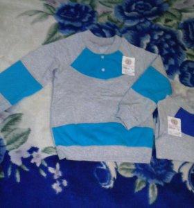 Новая одежда для мальчика 110-116